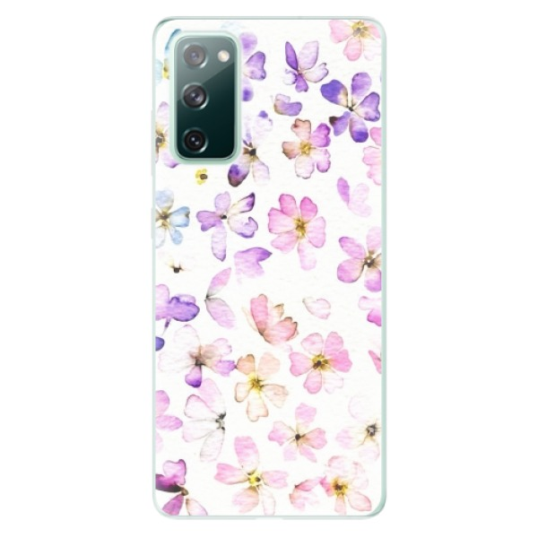 Odolné silikonové pouzdro iSaprio - Wildflowers - Samsung Galaxy S20 FE