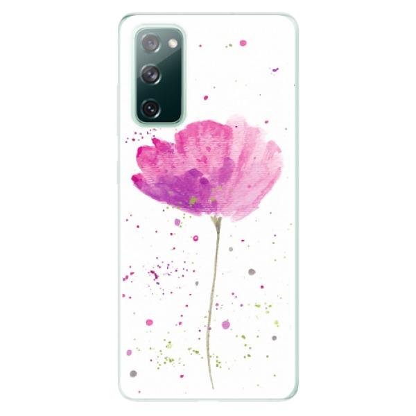 Odolné silikonové pouzdro iSaprio - Poppies - Samsung Galaxy S20 FE