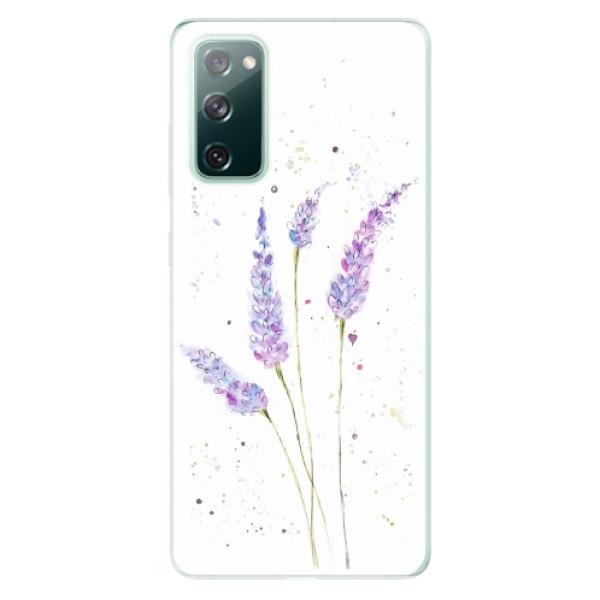 Odolné silikonové pouzdro iSaprio - Lavender - Samsung Galaxy S20 FE