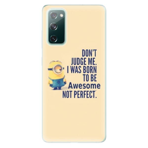 Odolné silikonové pouzdro iSaprio - Be Awesome - Samsung Galaxy S20 FE