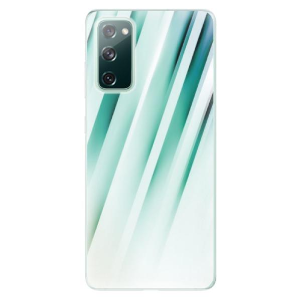 Odolné silikonové pouzdro iSaprio - Stripes of Glass - Samsung Galaxy S20 FE