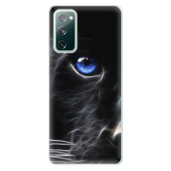 Odolné silikonové pouzdro iSaprio - Black Puma - Samsung Galaxy S20 FE