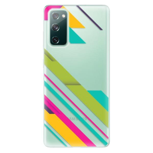 Odolné silikonové pouzdro iSaprio - Color Stripes 03 - Samsung Galaxy S20 FE