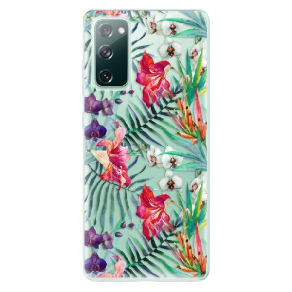 Odolné silikonové pouzdro iSaprio - Flower Pattern 03 - Samsung Galaxy S20 FE