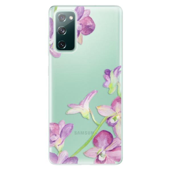 Odolné silikonové pouzdro iSaprio - Purple Orchid - Samsung Galaxy S20 FE