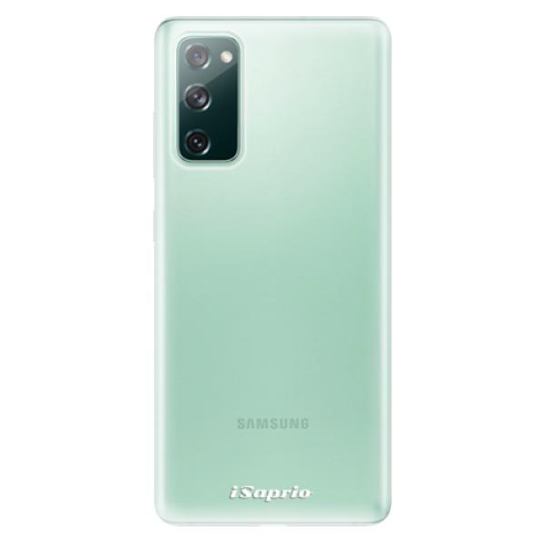 Odolné silikonové pouzdro iSaprio - 4Pure - mléčný bez potisku - Samsung Galaxy S20 FE