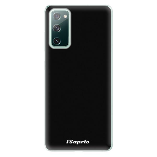 Odolné silikonové pouzdro iSaprio - 4Pure - černý - Samsung Galaxy S20 FE