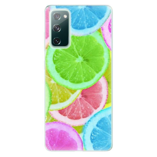 Odolné silikonové pouzdro iSaprio - Lemon 02 - Samsung Galaxy S20 FE