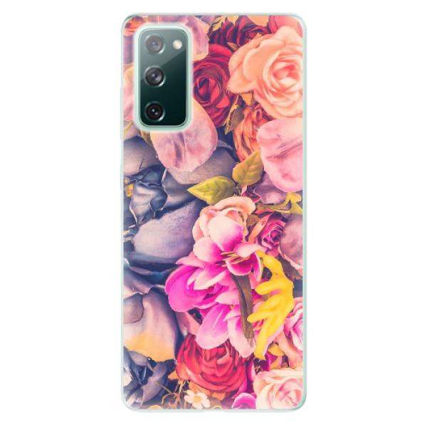 Odolné silikonové pouzdro iSaprio - Beauty Flowers - Samsung Galaxy S20 FE