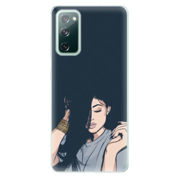 Odolné silikonové pouzdro iSaprio - Swag Girl - Samsung Galaxy S20 FE