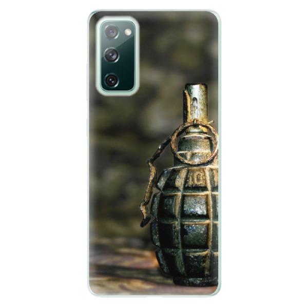 Odolné silikonové pouzdro iSaprio - Grenade - Samsung Galaxy S20 FE