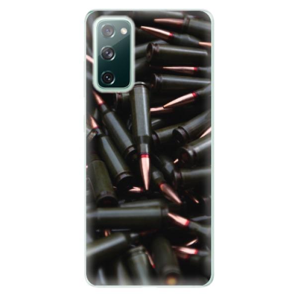 Odolné silikonové pouzdro iSaprio - Black Bullet - Samsung Galaxy S20 FE