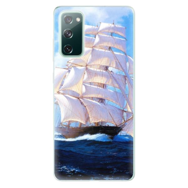 Odolné silikonové pouzdro iSaprio - Sailing Boat - Samsung Galaxy S20 FE