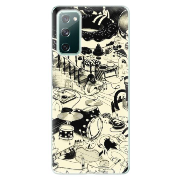 Odolné silikonové pouzdro iSaprio - Underground - Samsung Galaxy S20 FE