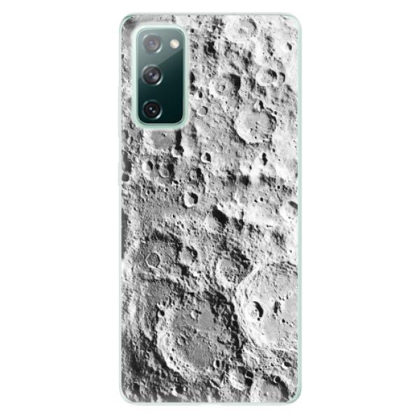 Odolné silikonové pouzdro iSaprio - Moon Surface - Samsung Galaxy S20 FE