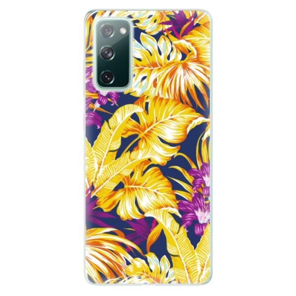 Odolné silikonové pouzdro iSaprio - Tropical Orange 04 - Samsung Galaxy S20 FE