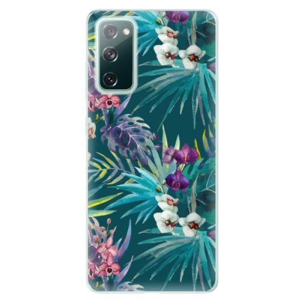 Odolné silikonové pouzdro iSaprio - Tropical Blue 01 - Samsung Galaxy S20 FE