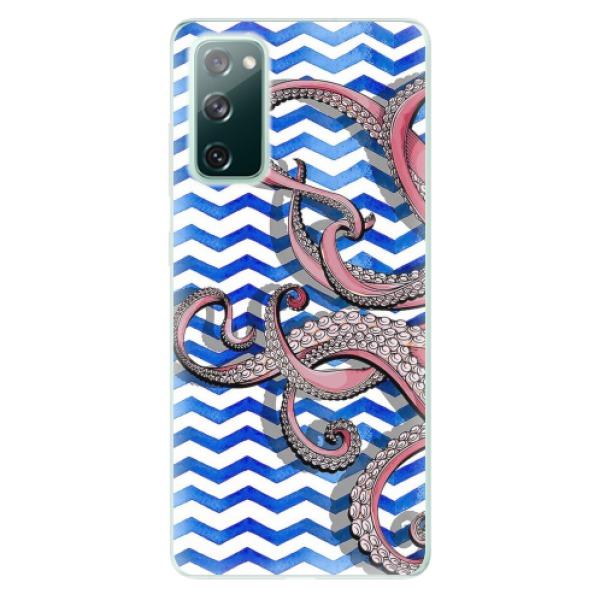 Odolné silikonové pouzdro iSaprio - Octopus - Samsung Galaxy S20 FE