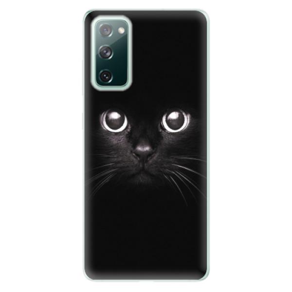 Odolné silikonové pouzdro iSaprio - Black Cat - Samsung Galaxy S20 FE