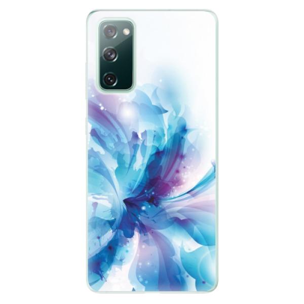 Odolné silikonové pouzdro iSaprio - Abstract Flower - Samsung Galaxy S20 FE