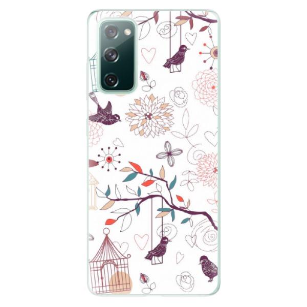Odolné silikonové pouzdro iSaprio - Birds - Samsung Galaxy S20 FE