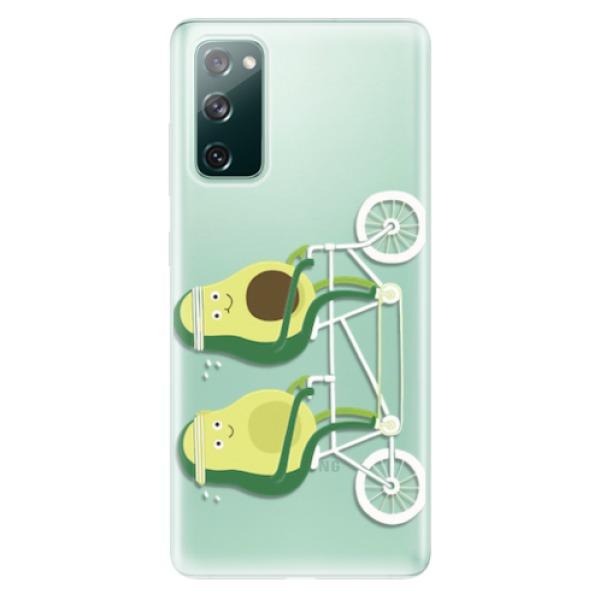 Odolné silikonové pouzdro iSaprio - Avocado - Samsung Galaxy S20 FE