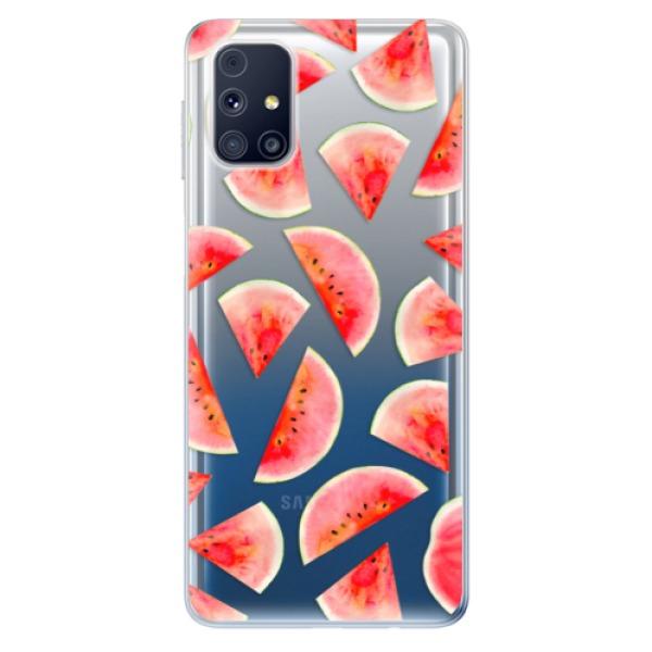 Odolné silikonové pouzdro iSaprio - Melon Pattern 02 - Samsung Galaxy M31s