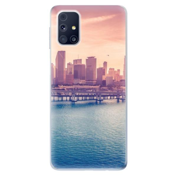 Odolné silikonové pouzdro iSaprio - Morning in a City - Samsung Galaxy M31s