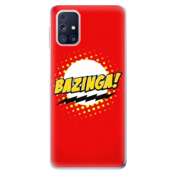 Odolné silikonové pouzdro iSaprio - Bazinga 01 - Samsung Galaxy M31s