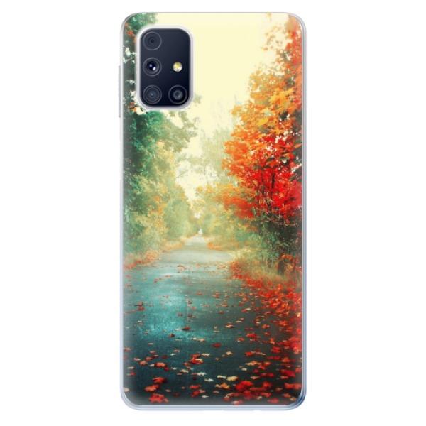 Odolné silikonové pouzdro iSaprio - Autumn 03 - Samsung Galaxy M31s