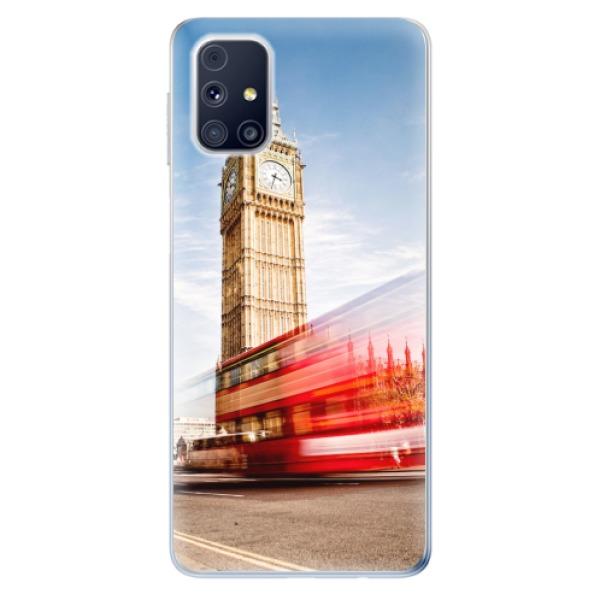 Odolné silikonové pouzdro iSaprio - London 01 - Samsung Galaxy M31s