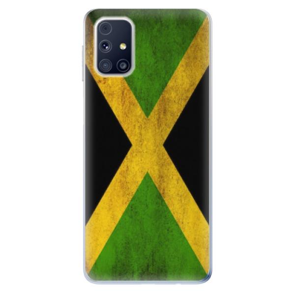Odolné silikonové pouzdro iSaprio - Flag of Jamaica - Samsung Galaxy M31s