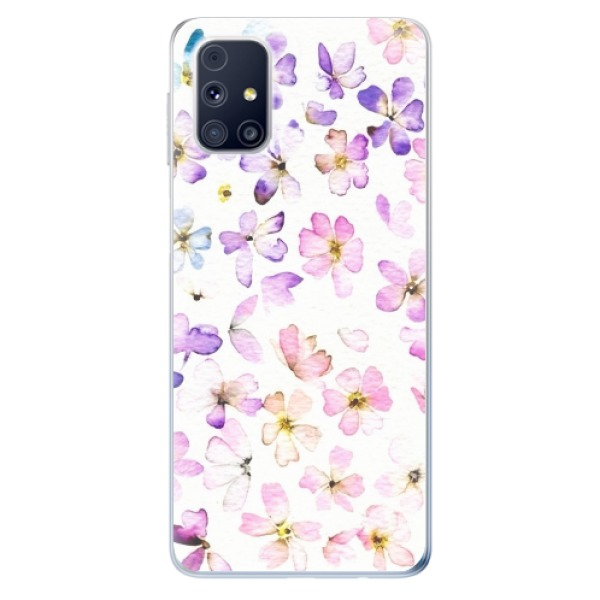 Odolné silikonové pouzdro iSaprio - Wildflowers - Samsung Galaxy M31s