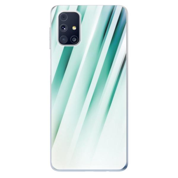 Odolné silikonové pouzdro iSaprio - Stripes of Glass - Samsung Galaxy M31s