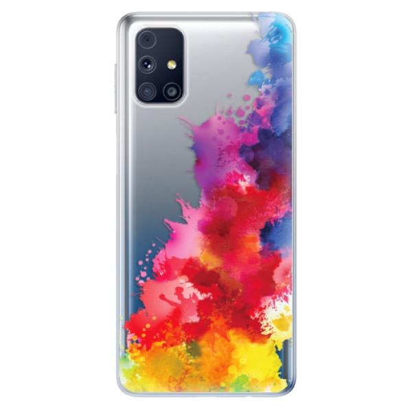 Odolné silikonové pouzdro iSaprio - Color Splash 01 - Samsung Galaxy M31s