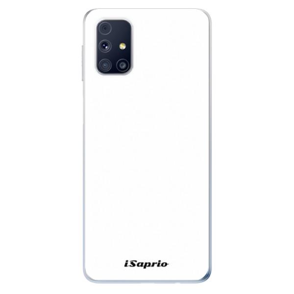 Odolné silikonové pouzdro iSaprio - 4Pure - bílý - Samsung Galaxy M31s