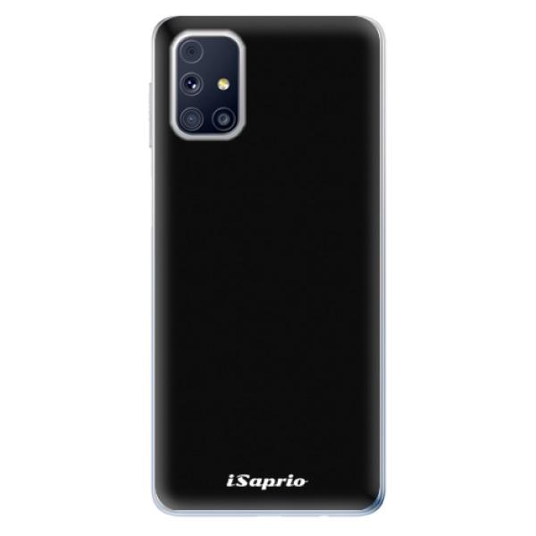 Odolné silikonové pouzdro iSaprio - 4Pure - černý - Samsung Galaxy M31s