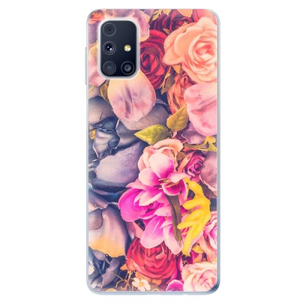 Odolné silikonové pouzdro iSaprio - Beauty Flowers - Samsung Galaxy M31s