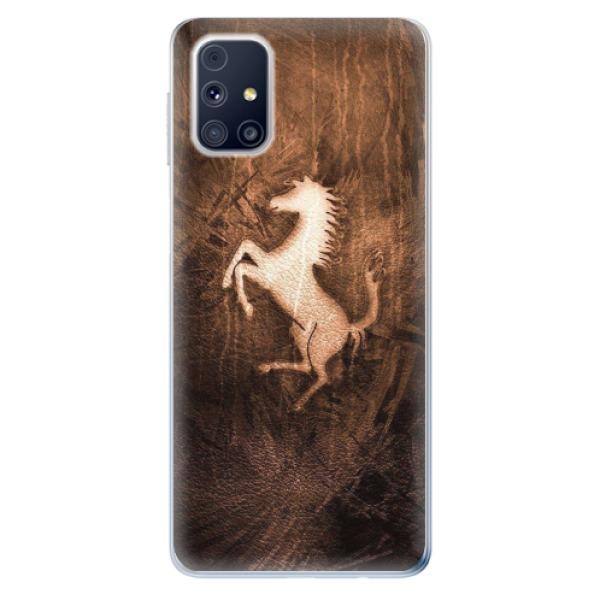 Odolné silikonové pouzdro iSaprio - Vintage Horse - Samsung Galaxy M31s