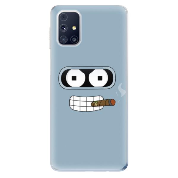 Odolné silikonové pouzdro iSaprio - Bender - Samsung Galaxy M31s