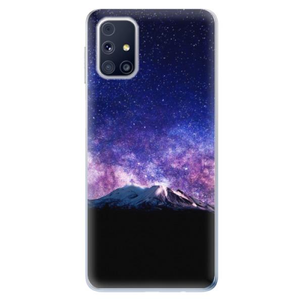 Odolné silikonové pouzdro iSaprio - Milky Way - Samsung Galaxy M31s