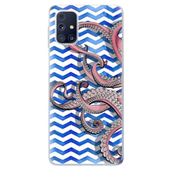 Odolné silikonové pouzdro iSaprio - Octopus - Samsung Galaxy M31s
