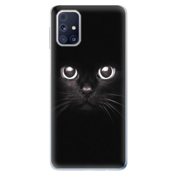 Odolné silikonové pouzdro iSaprio - Black Cat - Samsung Galaxy M31s