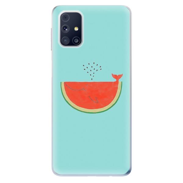 Odolné silikonové pouzdro iSaprio - Melon - Samsung Galaxy M31s
