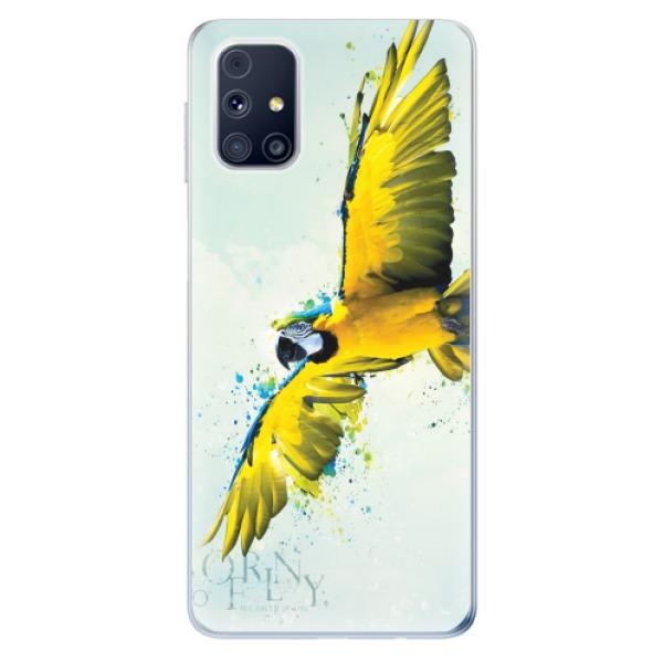 Odolné silikonové pouzdro iSaprio - Born to Fly - Samsung Galaxy M31s