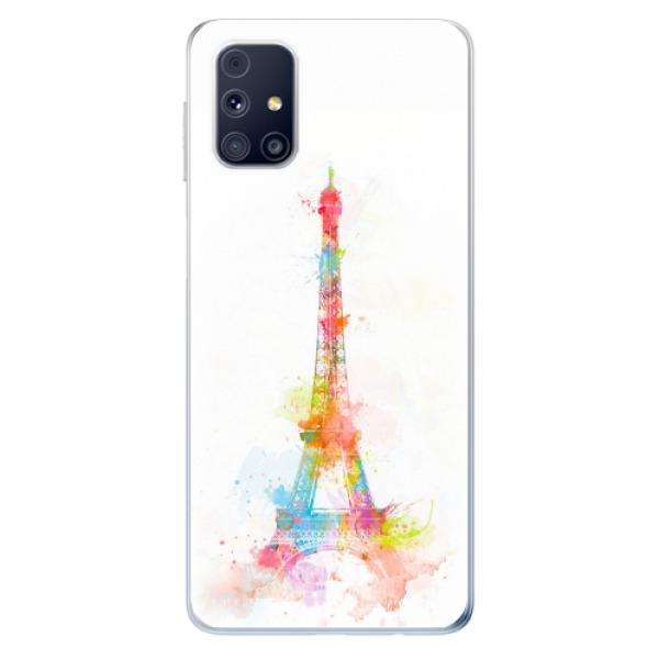 Odolné silikonové pouzdro iSaprio - Eiffel Tower - Samsung Galaxy M31s