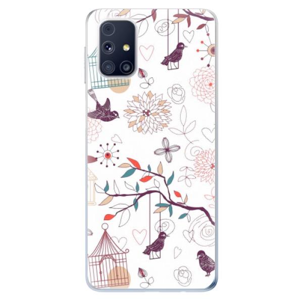Odolné silikonové pouzdro iSaprio - Birds - Samsung Galaxy M31s