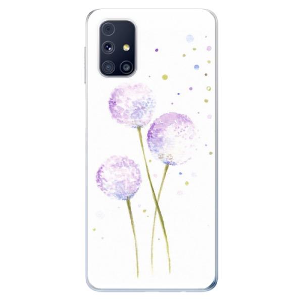 Odolné silikonové pouzdro iSaprio - Dandelion - Samsung Galaxy M31s