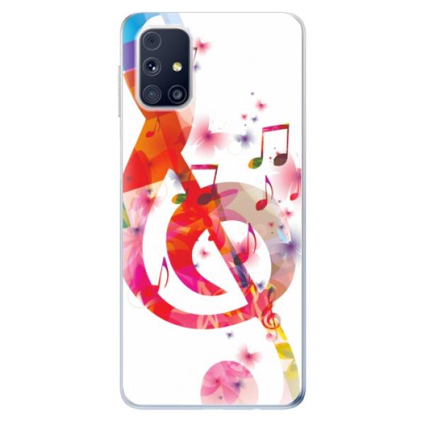Odolné silikonové pouzdro iSaprio - Love Music - Samsung Galaxy M31s