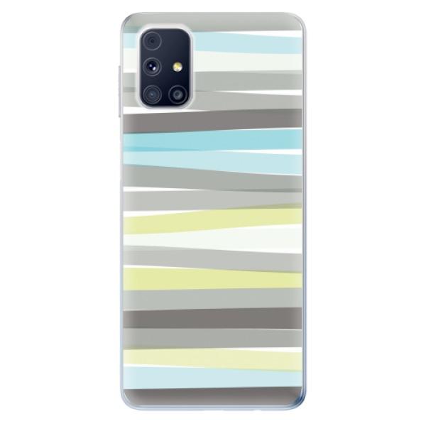Odolné silikonové pouzdro iSaprio - Stripes - Samsung Galaxy M31s